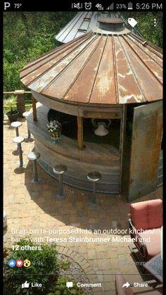 Old silo bar
