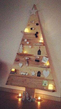 Kerstboom, steigerhout