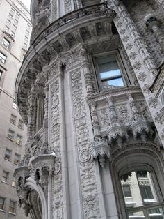 Alwyn Court - 180 W. 58 St. at 7th Ave. -The building was built in the early 1900's with most magnificent details in French Renaissance style