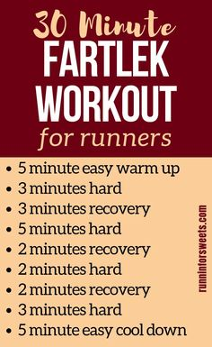 Fartlek training is a great way for runners to increase their speed. However, fartlek workouts are often confused with interval training. Here is everything you need to know to complete a successful fartlek run and use these running workouts to get faster quickly! #runningworkouts #fartlekworkout #fartlektraining Interval Running Workouts, Running Workout Plan, Speed Workout, Endurance Workout, Fun Workouts, Workout Ideas, Running Intervals, Running Routine, Workout Plans