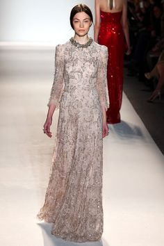 Trend: Lace Sleeves from Jenny Packham