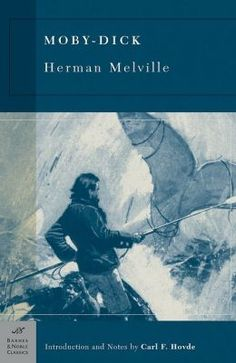 Herman Melville was born in 1819, in New York City, the son of a merchant. Only twelve when his father died bankrupt, young Herman tried work as a bank clerk, as a cabin-boy on a trip to Liverpool, and as an elementary schoolteacher, before shipping in January 1841 on the whaler Acushnet, bound for the Pacific. By 1850, he was home on a farm near Pittsfield, Massachusetts and writing Moby Dick, based on these adventures.