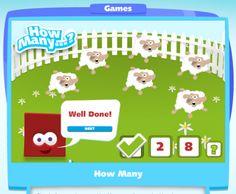 Actividades para Educación Infantil: Cuántos animales hay?