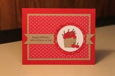 Stampin' Up! Cupcake Punch Jodi-Danielle Kutz Cherry Basket