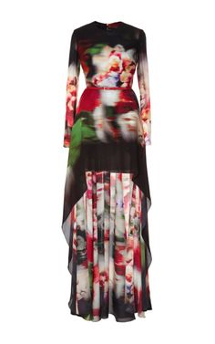 Silk Georgette Gown by  for Preorder on Moda Operandi