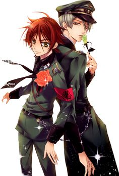Barajou no Kiss.~ The Orange and Lime Rose Knights.
