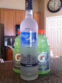 If you don't think vodka goes with Gatorade, you're not living your best life. | 23 Shameless Ways To Get Drunk That Are Actually Brilliant