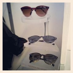 Stylish sunnies from Oliver Peoples