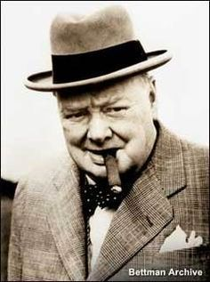 Churchill... which came first?