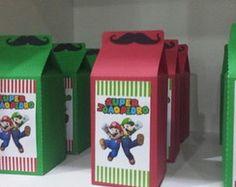 Caixinha Milk Mario Bros