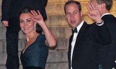 The Duke and Duchess of Cambridge appeared in good spirits as they attended St Andrews University 600th anniversary dinner at New York's Metropolitan Museum of Art tonight.