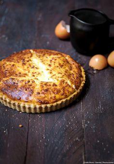 Quiche soufflée au fromage - Une délicieuse recette à savourer en famille...