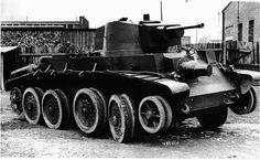 A Polish prototype Experimental tank. Army Vehicles, Armored Vehicles, Blackhawk Tactical, Invasion Of Poland, Tank Destroyer, Ww2 Photos, World Of Tanks, Ww2 Tanks, Panzer