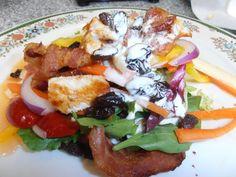 Roquefort Club and Jicama Salad Roquefort Dressing: