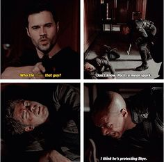 "#AgentsofSHIELD 2x18 ""The Frenemy of My Enemy"" - Ward, Mike and Lincoln"