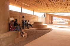 Kéré Architecture · Burkina Institute of Technology · Divisare Thermal Mass, Rise Art, Landscaping Work, Walk In The Woods, How To Run Faster, Architect Design, Contemporary Architecture, Transparent