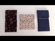 Cómo hacer una funda de móvil - Tienda patchwork online Coin Purse Tutorial, Mobiles, How To Make Purses, Small Sewing Projects, Bag Making, Diy And Crafts, Sewing Patterns, Patches, Gift Wrapping