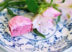 Strawberry Whip Cupcakes - Peony Lim