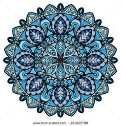 stock-vector-mandala-tribal-ethnic-ornament-vector-islamic-arabic-indian-pattern-291025790.jpg (450×470)