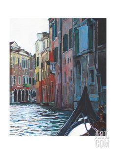 Venetian Backwater, 2012 Giclee Print by Helen White at Art.com