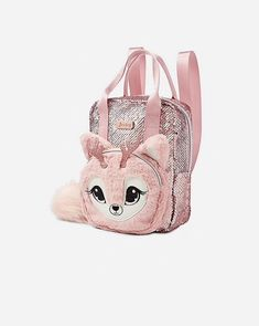 Justice is your one-stop-shop for on-trend styles in tween girls clothing & accessories. Shop our Deer Sparkle Mini Backpack. Justice Backpacks, Justice Bags, School Bags For Girls, Girls Bags, Cute Backpacks, Girl Backpacks, Camo Quilt, Diy Gift For Bff, Unicorn Fashion