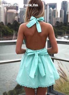 Don't know what I want more that dress or that back! #hotness