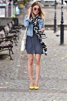 denim jacket outfit - Buscar con Google