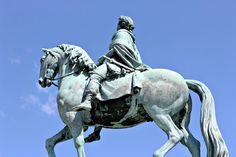 Equestrian Statue of Frederik V, Copenhagen, Denmark