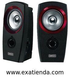 """Ya disponible Altavoz Sweex 2.0 speaker set   (por sólo 15.89 € IVA incluído):   -Con Alimentación USB -Protección Magnética -""""Plug and play"""": SI -Tamaño de cable: 1.35 m -Cantidad de puertos USB 2.0: 1 -Audio RMS, fuerza estimada: 1 W Canales de audio: 2.0 Control de volumen: SI Frecuencia de respuesta: 130 - 20000 Hz Potencia musical: 20 W -Conectividad Puertos de entrada y salida (E/S): 3.5mm Headphone output Conector: 3.5 mm Tecnología de conectividad: Cable -Alt"""