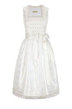 Brautdirndl Jacquard in Weiß #trachtenangermaier #angermaier #braut #Brautkleid #brautdirndl #trauminweiß #hochzeitstracht #hochzeit #bräutigam #grom #letsgetmarried #marryme #tracht
