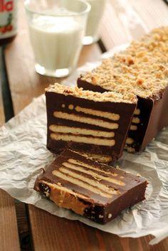Κορμός με Nutella με 4 υλικά