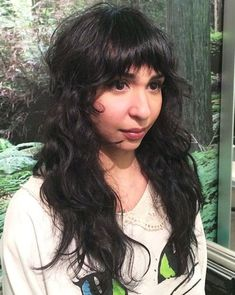 Long curly hairstyles with fringes for 2017 Longues coiffures 0 Ağu 2018 Long hairstyles 0 Curly or curly long hairstyles look gr. , Long curly hairstyles with fringes for 2017 , , image_alt] Curly Hair With Bangs, Long Curly Hair, Long Hair Cuts, Hairstyles With Bangs, Curly Hair Styles, Cool Hairstyles, Wedding Hairstyles, Shaggy Hairstyles, Short Bangs