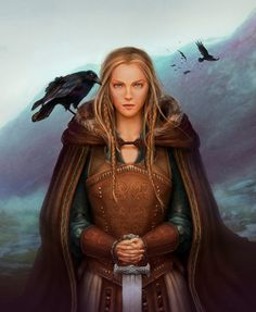 Viking Queen Luv this art work!!