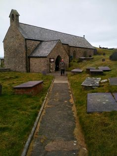 The Church of Llanbadrig (St Patrick's Church) is situated on Llanbadrig Point near Cemaes Bay on the north coast of Anglesey, North Wales. The old church was established in the 5th Century AD