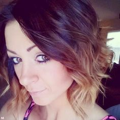 Love the color. dark on top and blond underneath cute short hairstyles 2014 Short Hair Ideas 2014
