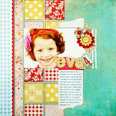 BG- Kelly Goree.  Love the design-- use different papers.