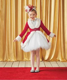 Rockettes® Santa Costume for Girls | Chasing Fireflies