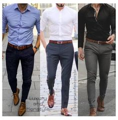 Mens Casual Dress Outfits, Formal Men Outfit, Stylish Mens Outfits, Mens Semi Formal Wear, Formal Dresses For Men, Work Outfits, Office Outfits, Mens Fashion Semi Formal, Stylish Jeans For Men