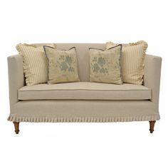 Quatrine Furniture - Slipcovered Antoinette loveseat