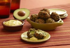 Serve up an appetizing twist with these California Avocado-stuffed fritters topped with an Aji Amarillo Aioli.