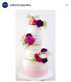 Everything about this cake is stunning! Our artists definitely have some inspiration brewing after this beauty!