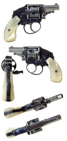"""VERY FINE .320 REVOLVER BELGIUM PROOFS. """"Velo Dog"""" Type revolver"""