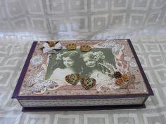 Weiteres - Geldgeschenk  Geburtstag Geschenkschatel Box - ein Designerstück von Froehlich-Elena bei DaWanda