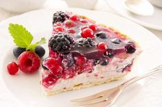 Want a light and refreshing dessert that won't take all day to make? Try out out berry tart...fresh fruit with a sweet cheese filling that can't be beat!
