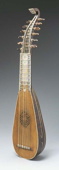 Mandolino : : built by Italian luthier, Benedetto Gualzatta, circa 1724