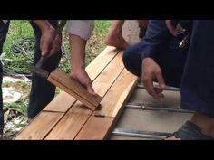 Thi công sàn gỗ tự nhiên ngoài trời