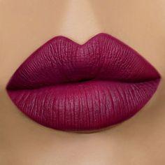 Gerard Cosmetics Hydra Matte Liquid Lipstick Wine Down Deep Burgundy Plum Lipgloss, Lipstick Dupes, Lipstick Shades, Eyeshadow Brushes, Lipstick Colors, Eyeshadow Makeup, Liquid Lipstick, Lip Makeup, Makeup Brushes