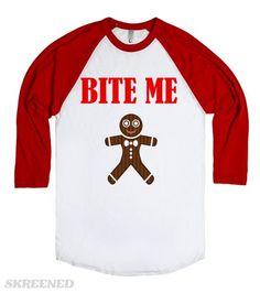 BITE ME CHRISTMAS COOKIE #Skreened