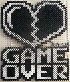 Game Over (Heart) by PerlerPixie.deviantart.com on @DeviantArt