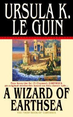 A Wizard of Earthsea by Ursula K. Le Guin My rating: 4 of 5 stars A Wizard of Earthsea by Ursula K. Le Guin Set in the fictional. Ya Books, I Love Books, Good Books, Books To Read, Teen Books, Comic Books, High Fantasy, Fantasy Books, Fantasy Fiction
